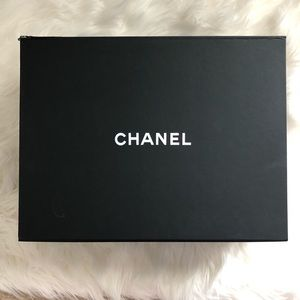 Authentic Chanel empty magnetic large box
